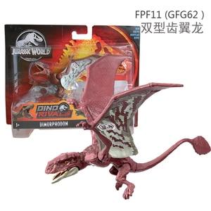 Image 5 - 16 20cm Original Jurassic World Toys Attack Pack Velociraptor Triceratops Dragon PVC Action Figure Model Dolls Toys For Children