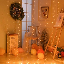 3M USB LED Power Curtain Fairy Garland Lights LED String Light Party Garden Home Wedding Decoration Gift Decor Accessories