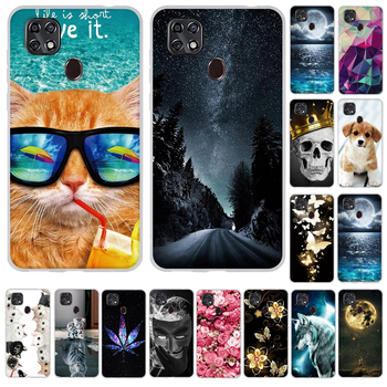 Case For ZTE Blade 20 Smart 2019 Cover Soft Silicone Cute Cat Bumper TPU Cases Back Cover on ZTE Blade 20 Smart Case Bags for zte blade a6 a6 lite cover ultra thin soft tpu silicone for zte blade a6 case girl patterned for zte blade a6 lite shell bag