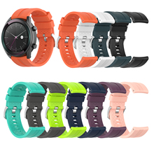 For Huami Amazfit GTR 47mm Pace Stratos 2/2S Silicone Watch Strap Band Men Smart Sport wrist band For Huawei GT Watch Band 46mm metal milanese loop band for xiaomi huami amazfit bip strap 20mm 22mm wrist band for amazfit gtr 47 47mm strap stratos 2 2s pace