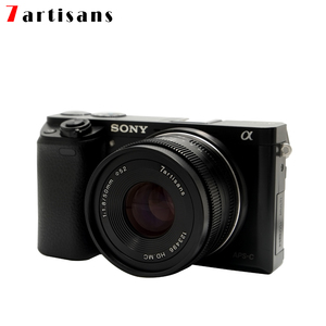 Image 3 - 7 handwerker 50mm F1.8 Manuelle Objektiv für Canon EOS M kamera A7 A7II A7R Sony E Mount Fuji FX makro MFT/M4/3 Montieren Kostenloser Versand