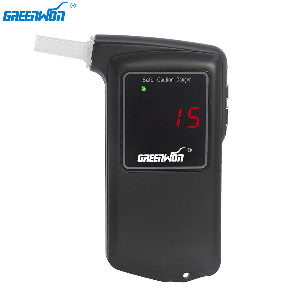 GREENWON Professional Digital LCD screen Display breathalyzer Alcohol Tester