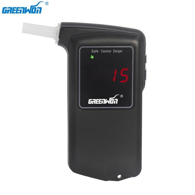 Профессиональный цифровой алкотестер GREENWON с ЖК дисплеем