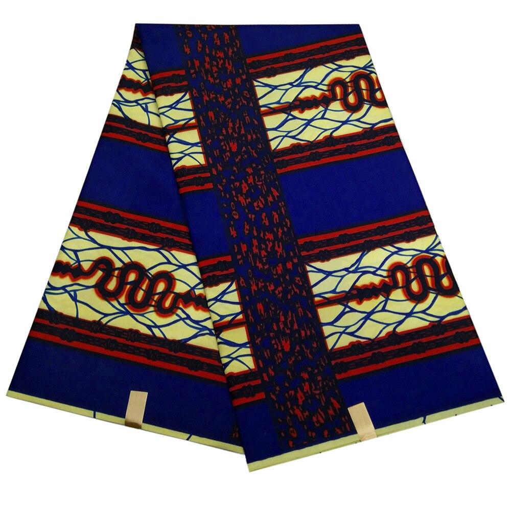 Veritable Dutch Wax Guaranteed Real Dutch Wax High Quality  Dutch Wax 6yards African Ankara Sewing Fabric
