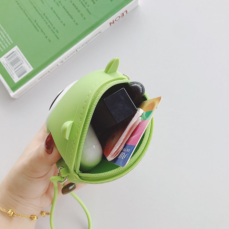 Women Wallet Fashion Lady Wristlet Handbags Circle Money Bag Zipper Coin Purse Card ID Holder Clutch Woman Wallet Burse Notecase in Coin Purses from Luggage Bags