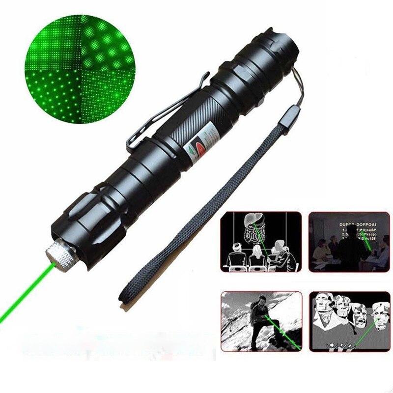 Tool Pointer Pointer Speech Outdoor Lamp Pen Laser Green Laser 10 Miles Beam Light Lazer Ray High Power Adventure Teaching Tools