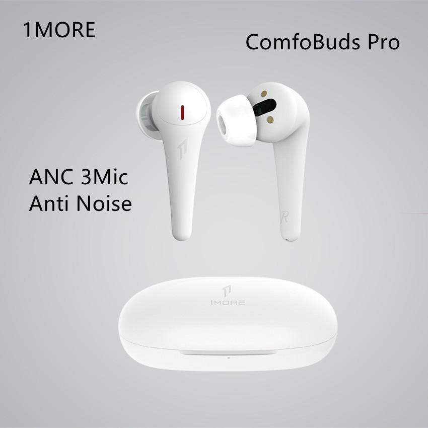 1more ComfoBuds Pro Bluetooth 5,0 True Беспроводной ANC 3Mic анти Шум Водонепроницаемый AAC вкладыши Наушники 35DB 28 час