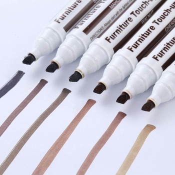 Meble pióro naprawcze markery Scratch Filler produkt do usuwania farby do drewnianych szafek stoły podłogowe krzesła DFK889 tanie i dobre opinie NONE CN (pochodzenie) Tynkarska Other Matte Na bazie wody Szczotkowanie