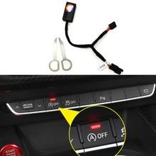 Sistema de arranque y parada automática para coche, eliminador de sistema de motor, Control de enchufe del Sensor de parada, para Audi A4, B9, A5, B9, A3, 8V, Q5, FY, Q3, F3, Q2