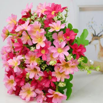 Bukiet ślubny kwiaty akcesoria ślubne małe bukiety ślubne jedwabne róże bukiety ślubne do dekoracji druhen tanie i dobre opinie perfectlifeoh Poliester Rayon Wiskoza 27cm 23cm Wedding Bouquet 0 23kg