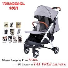 YOYA детская коляска плюс 4 переносная легкая коляска детская дорожная сумка для коляски Младенческая тележка навес на молнии 10 подарок