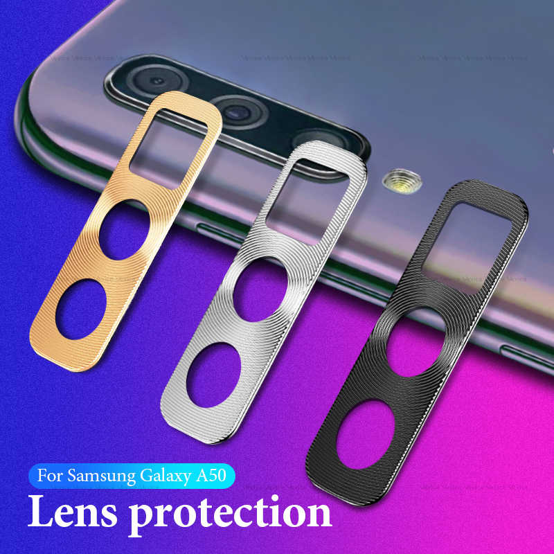 Защита для объектива камеры кольцо чехол для ювелирных изделий, samsung Galaxy A50 A30 2019 металлическая крышка объектива на A50 50 A505 A505F SM-A505F кольцо для пробирок