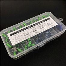 Nichicon/ELNA Muse BP/RBP2 Bi Polar HiFi Audio Capacitor assorted kit box assortment 10V~50V, 0.47uF~220uF Non Polar total 95pcs