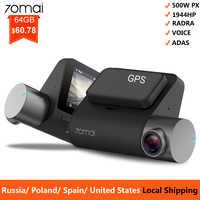 70mai Pro Dash Cam 1944P GPS ADAS Auto Voiture DVR 70 mai Car Dashcam Commande Vocale 24 HParking Moniteur 140FOV Vision Nocturne Caméra WIFI dash camera voiture
