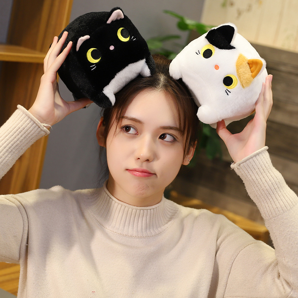 Japanese Anime Square  Cat Plush 6