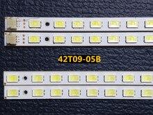 4 pièces/ensemble 100% compatible barre de LED lumière 42T09 05B pour 73.42T09.005 4 SK1 73.42T09.004 4 SK1 T420HW07 V.6 panneau 52LED s 472MM