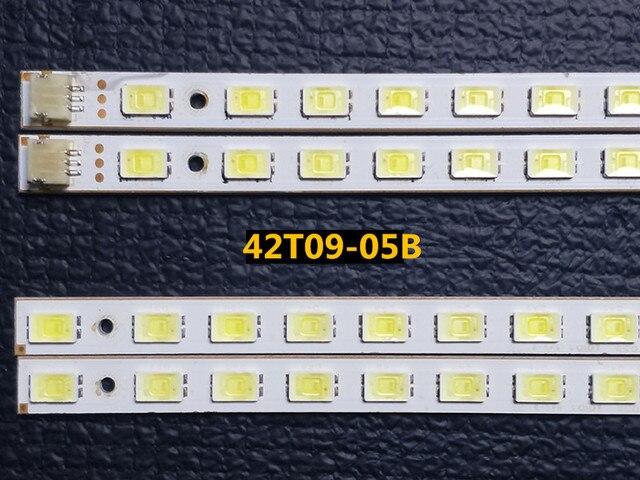 4 sztuk/zestaw 100% kompatybilny LED drążek LED 42T09 05B dla 73.42T09.005 4 SK1 73.42T09.004 4 SK1 T420HW07 V.6 panel 52 diody LED 472MM
