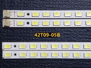 Image 1 - 4pcs/set  100% compatible LED bar light 42T09 05B for 73.42T09.005 4 SK1 73.42T09.004 4 SK1 T420HW07 V.6 panel 52LEDs 472MM