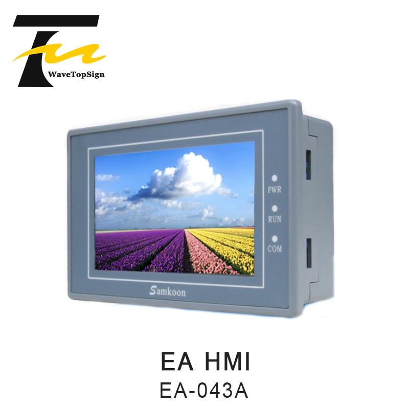 Samkoon EA-043A HMI Touch Screen New 4.3 Inch 480*272 Human Machine Interface