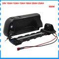 350 Вт 24В ebike батарея 24В 10ач 12Ач 15ач 20ач литий-ионная трубка для bafang мотор с USB портом 29 4 в 3A зарядное устройство