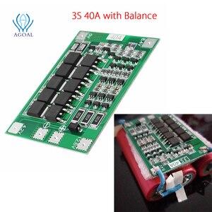 Image 5 - 3S 4S 25A 40A 18650 carte de Protection de batterie au Lithium 11.1V 12.6V 14.8V 16.8 courant élevé avec décharge de surcharge équilibrée
