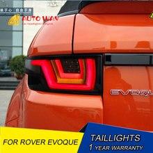 Luz trasera LED para coche, luces traseras de estacionamiento, carcasa para Range Rover Evoque, estilismo para coche