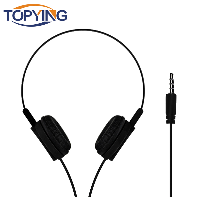 TOPYING 3.5mm Earphone Sports Wired Headphones Stereo Bass for Iphone X Samsung S9 Plus for MP3 MP4 Player Phone PC
