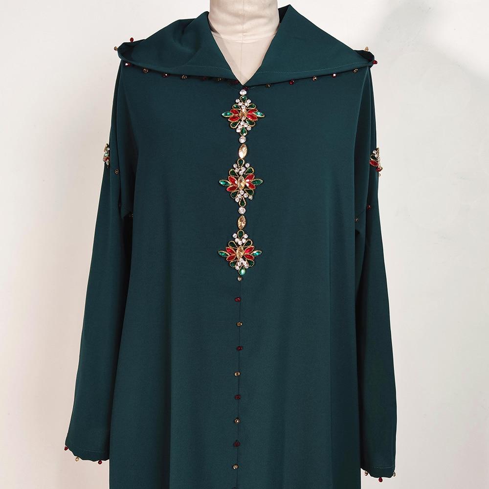 Dubai Abaya Turkey Hijab Muslim Dress Abayas Islam Clothing African Dresses For Women Robe Musulman De Mode Djellaba Femme Oman