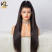 250% densidade reta frente do laço perucas de cabelo humano para preto feminino 13x4 glueless peruca brasileira do laço do cabelo remy com cabelo do bebê