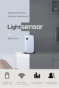 Image 4 - WIFI אלחוטי אור חיישן אוטומטי אינטליגנטי פעולה בהירות detectionAl הצמדת ביצוע Tuya APP בקרת Smarthome