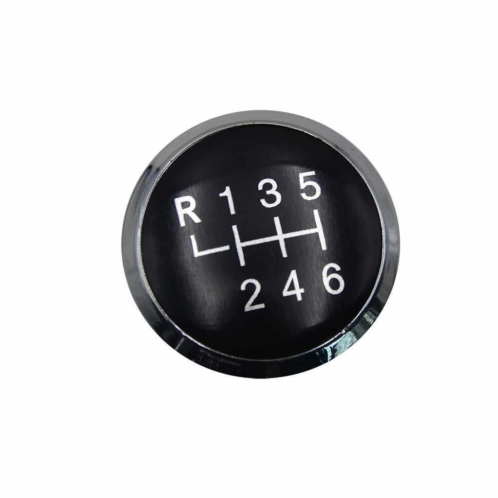 5/6 Speed Auto Handleiding Pookknop Hefboom Stick Pen Cover Cap Emblem Badge Voor Volkswagen Vw Vervoer T5 T5.1 gp T6 # YL1