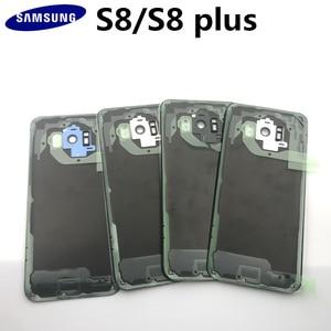 Image 3 - Panel trasero para Samsung Galaxy S8, G950, S8plus, G955, pegatinas preadhesivas y herramientas