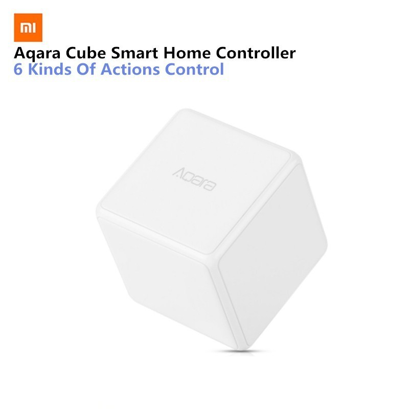 Aqara Cube Controller Smart Home Controller 6 Action Operation For Home Device Zigbee Version App Wireless Remote Control