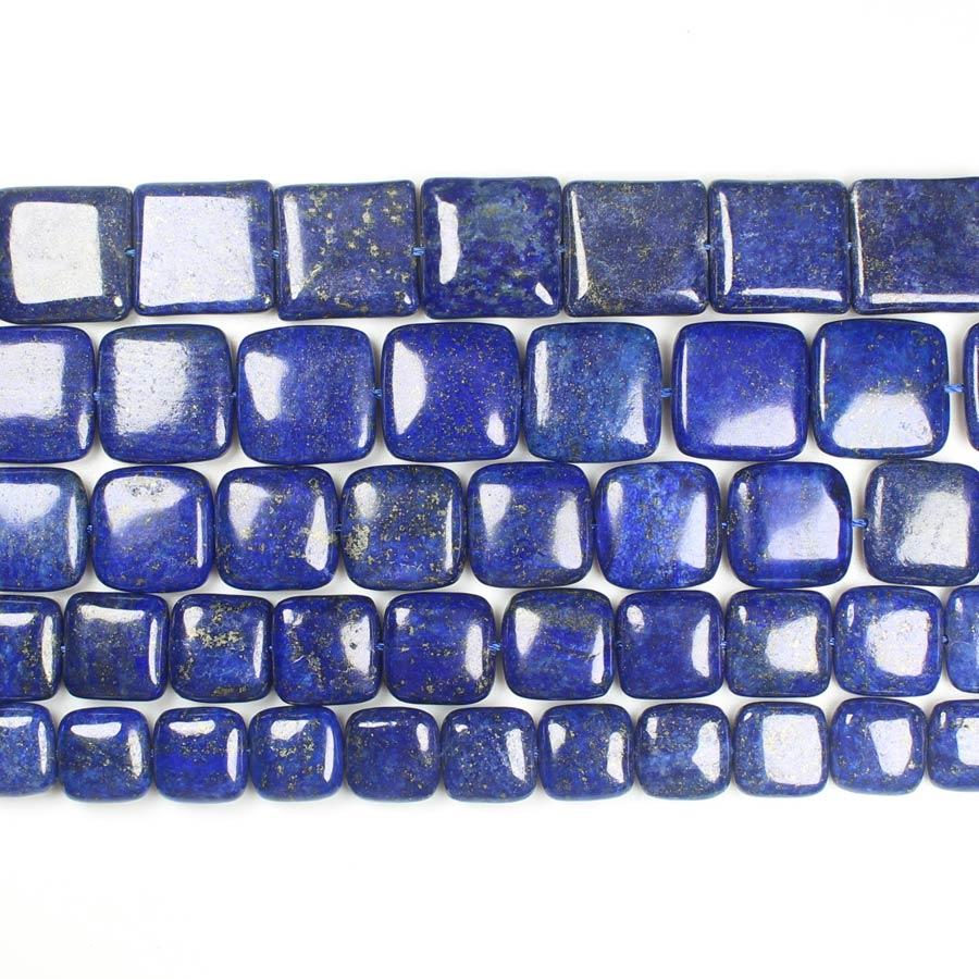 Wholesale Lapis Lazuli Square Loose Beads 15