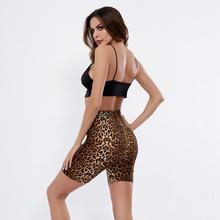 Women Sport Sexy Leopard Gym Workout Fitness Yoga Shorts Short For Ladeis Womens Push Up Leggings Woman