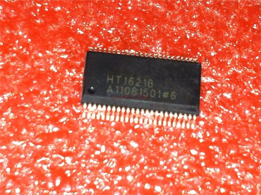5pcs/lot HT1621B HT1621 SSOP-48 In Stock