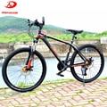 Велосипед GMINDI, 26 дюймов, горный велосипед, алюминиевый велосипед, светодиодная Подвеска для взрослых, велосипед с бесплатным подарком