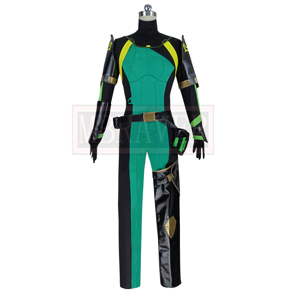 Game Valorant Viper Cosplay Costume Cos Halloween Christmas Party Uniform Costom Made Any Sizes 3