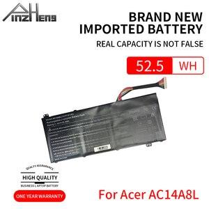 PINZHENG AC14A8L batería del ordenador portátil para Acer Aspire VN7-571 VN7-571G VN7-591 VN7-591G VN7-791G MS2391 KT.0030G 001 11,4 V 4605mAh