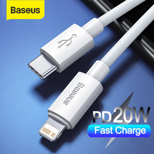 Baseus USB Type C for iPhone 12 11 8 X XR PD 20W Fast Charge