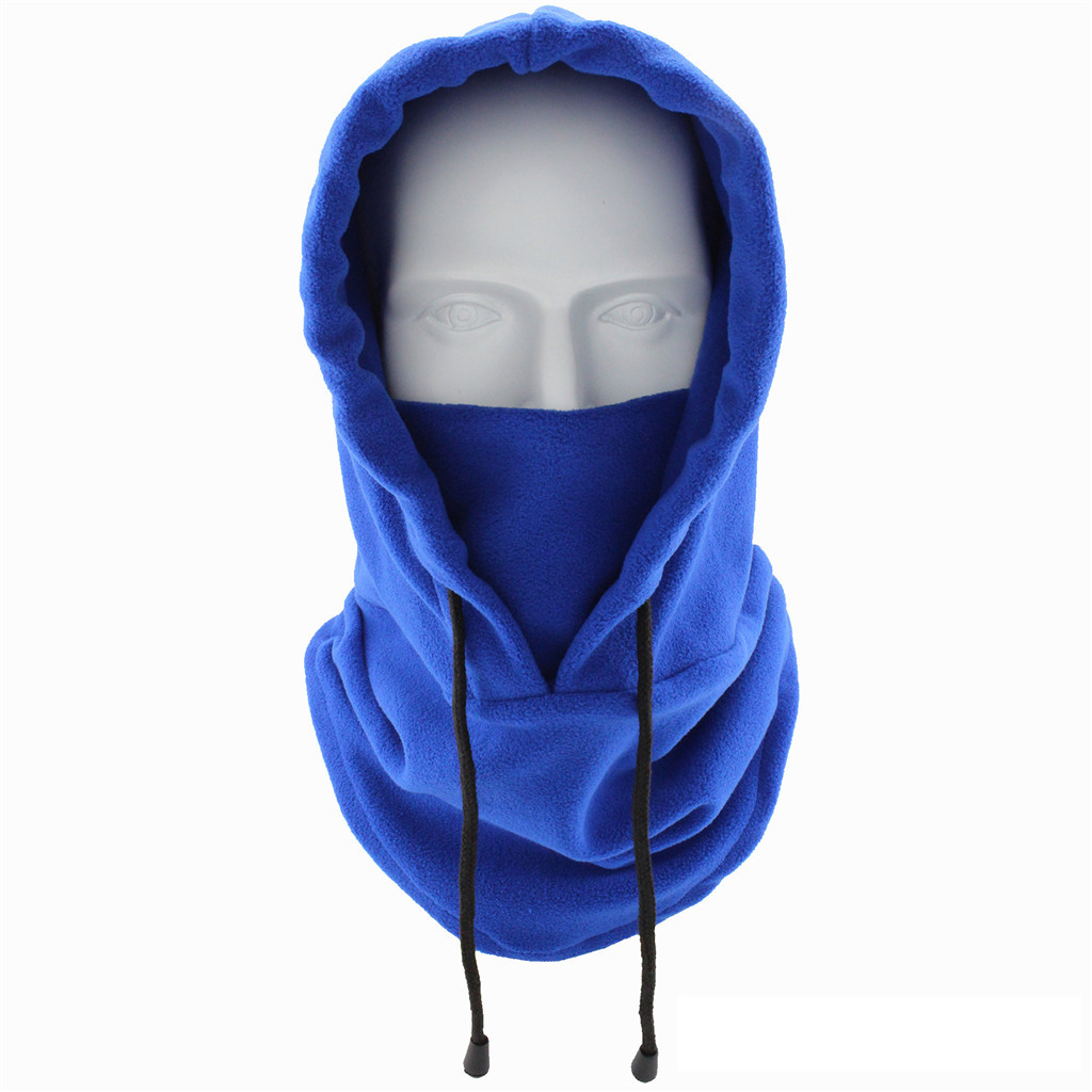 Cycling Cap Ski Winter Windproof Cap Outdoor Sports Bib Cold Thickening Full Face Headgear Neck Warmer Running Cap Cover