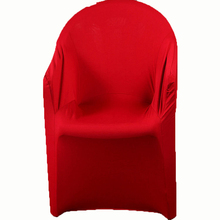 """4 יח\חבילה ספנדקס כיסויים עבור כורסות מכסה מסיבת חתונת יו""""ר כיסוי למתוח זרוע כיסא מכסה Housse דה נוח Mariage"""