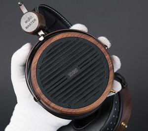 Музыкальный мастер 108 мм 1000 плоских магнитных 40 Ом басов ручной работы Hifi аудиофил деревянная гарнитура наушники PK HD800 LCD4 HE1000