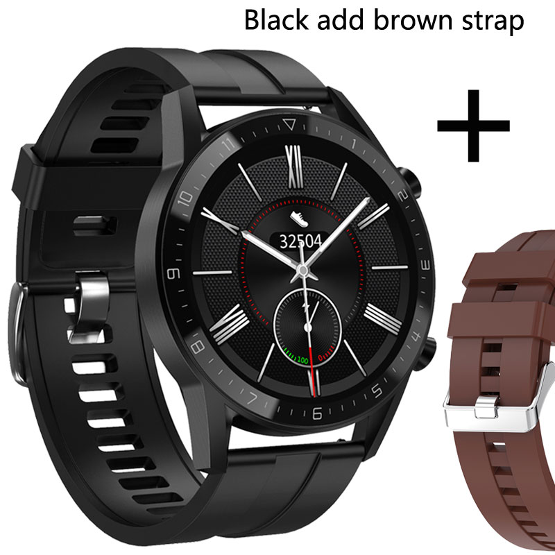 Add brown strap