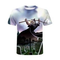 The Aliens nowy letni mężczyzna z krótkim rękawem O-neck T-shirt Casual oddychające męskie topy tee moda 2020 drukowanie 3D t-shirty