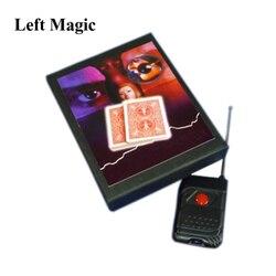 Unsichtbare Hand-Deck Zaubertricks Wählen die Ausgewählte Karte Magica Close Up Illusion Gimmick Requisiten Mentalismus Komödie