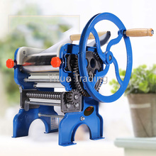 150-4 Manual Double-sided Kneading Stainless Steel Machine Household Manual Pressing Machine Small Multi-function Pasta Machine