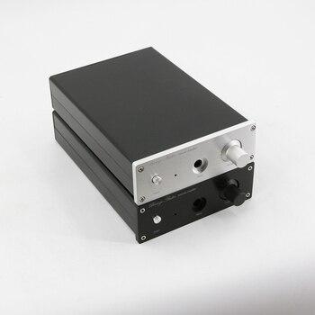 Full aluminum chassis 1706 headphone enclosure HiFi power AMP box 170x60 x251MM фото