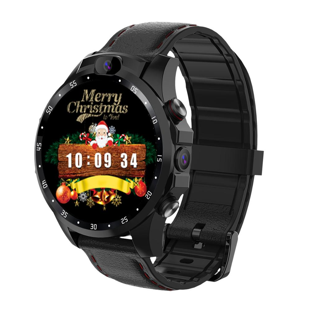 "GOLDENSPIKE v9 3GB 32GB 5.0MP Dual Camera GPS Sport Android Smart Watch 1.6"" 800mAh Bluetooth Smartwatch Men For IOS Android