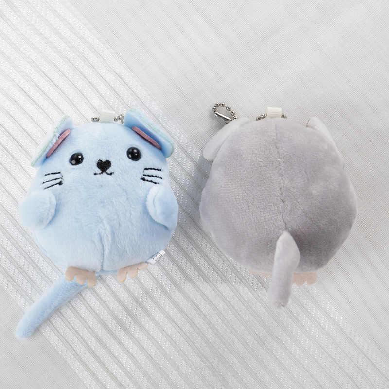 Peluş anahtarlık yumuşak oyuncak bebek el çan çanta uğuru sevimli dolması kabarık fare arabası oyuncak çocuk odası dekorasyon yenidoğan oyuncaklar